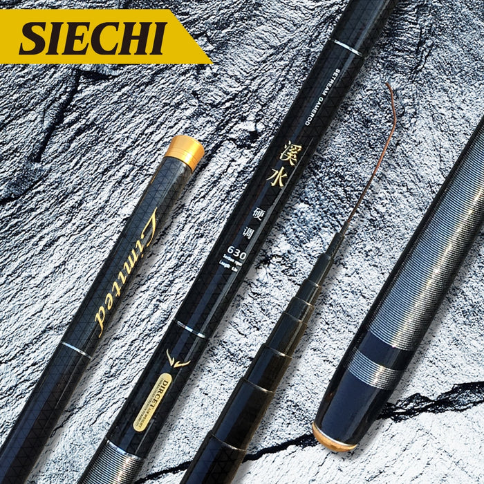 NEW Ultralight Hard Stream Hand Pole Carbon Fiber Telescopic Fishing Rods Fish Tackle 3.6/4.5/5.4/6.3/7.2 Meters - PanasiaMarine.Com