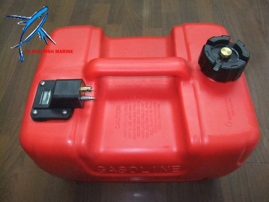 Boat Motor 12L Fuel Tank assembly for Yamaha / Hidea / Powertec Outboard Motor, with fuel cap and fuel gauge - PanasiaMarine.Com