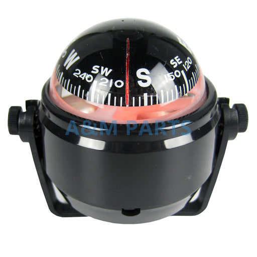 Marine LED Navigation Compass for Sail Ship Vehicle Car Boat Black Electronic - PanasiaMarine.Com