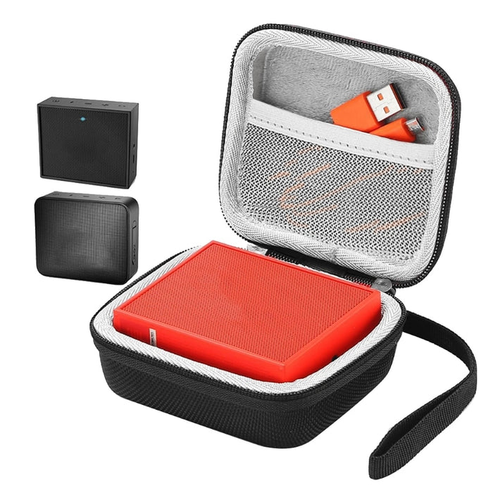 Portable EVA Zipper Hard Case Bag Box For JBL Go 2 Bluetooth Speaker - PanasiaMarine.Com
