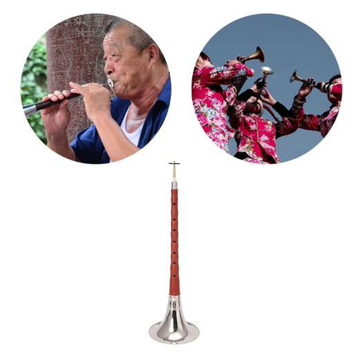 High Quality Chinese Folk Wind Musical Instrument Suona / Shanai Key of bB C D F - PanasiaMarine.Com