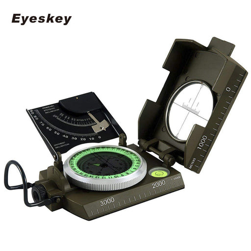 Mulitifunctional Eyeskey Survival Military Compass Camping Hiking Compass Geological Compass Digital Compass Camping Equipment - PanasiaMarine.Com