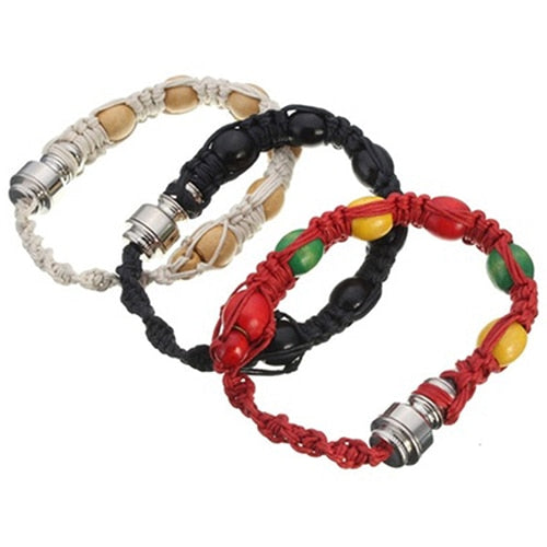 Portable Metal Bracelet Smoking Pipe Weed Pipe Knitting Rope Men Women Mini Hidden Hookah Bracelet Jewelry Gift - PanasiaMarine.Com