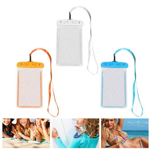 Swimming Bags Waterproof Bag with Luminous Underwater Pouch Phone Case For iphone 6 6s 7 8 universal Band 2018 Wholesale - PanasiaMarine.Com