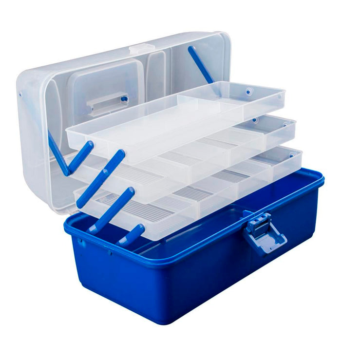 Waterproof Multi Layer Fishing Tackle Box Fly Fishing Storage Case Portable Fishing Gear Storage Box Strong Corrosion Resistant - PanasiaMarine.Com