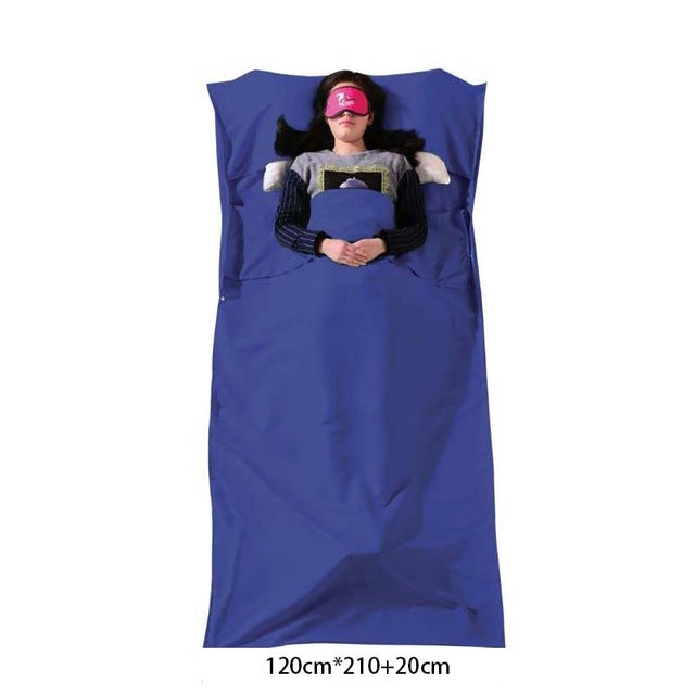 Ultralight Outdoor Sleeping Bag Liner Portable Cotton Sleeping Bags Camping Travel Healthy Camping Hiking YHSD01 - PanasiaMarine.Com