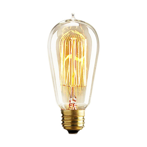 Retro Edison Bulbs E27 25W 40W 60W ST64 230V Incandescent Bulb Filament Bulb Vintage Edison Light For Pendant Lamp Fot Cafe Shop - PanasiaMarine.Com