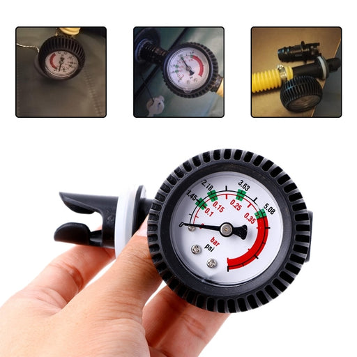 Air Pressure Gauge Thermometer Connector For Inflatable Boat - PanasiaMarine.Com