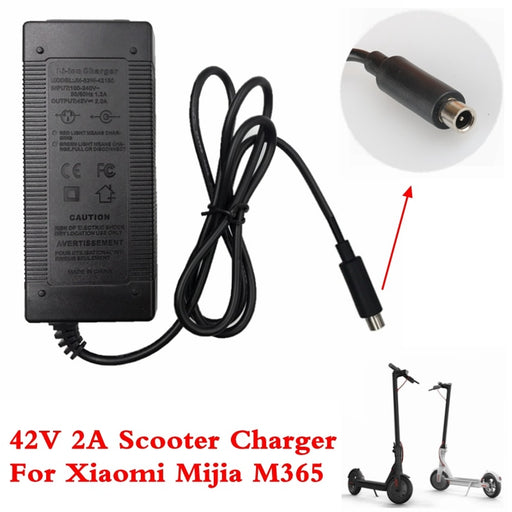 Electric Scooter Charger 42V 2A Adapter for Xiaomi Mijia M365 Ninebot Es1 Es2 Electric Scooter Accessories Battery Charger - PanasiaMarine.Com