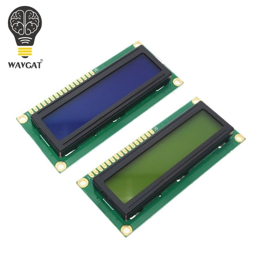 WAVGAT LCD1602 1602 module Blue Green screen 16x2 Character LCD Display Module HD44780 Controller blue black light - PanasiaMarine.Com