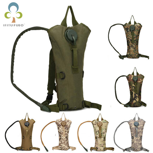 3L Water Bag Molle Military Tactical Hydration Backpack Outdoor Camping Camelback Nylon  Water Bladder Bag For Cycling GYH - PanasiaMarine.Com