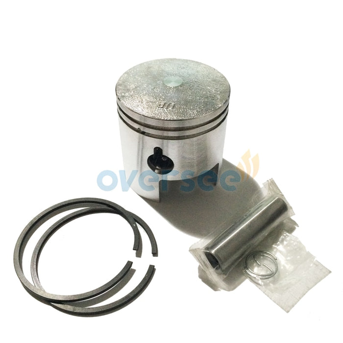 350-00001 350-00011 60MM Piston kit with ring set for Tohatsu Nissan 18HP M NS Outboard engine boat motor - PanasiaMarine.Com