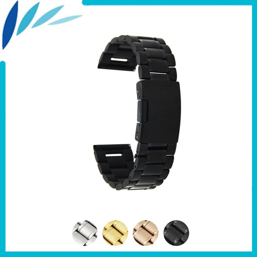 Stainless Steel Watch Band 14mm 16mm 18mm 19mm 20mm 21mm 22mm 24mm for Fossil Watchband Strap Wrist Loop Belt Bracelet Silver - PanasiaMarine.Com