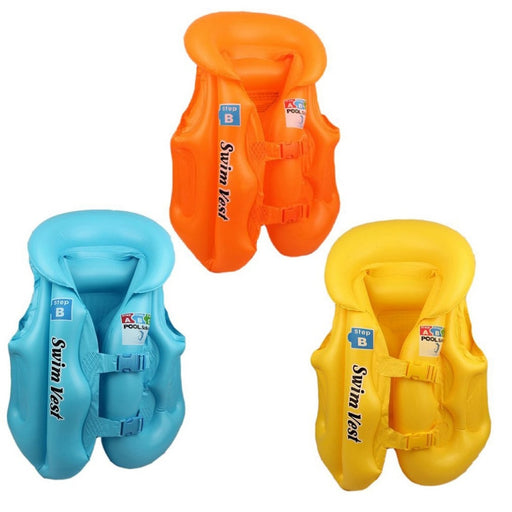 S M L Summer Baby Safety Ride-On Swimming buoyancy vest Toys Kids Pool Rafts Float Swim Inflatable Tube life jacket Babies Toys - PanasiaMarine.Com