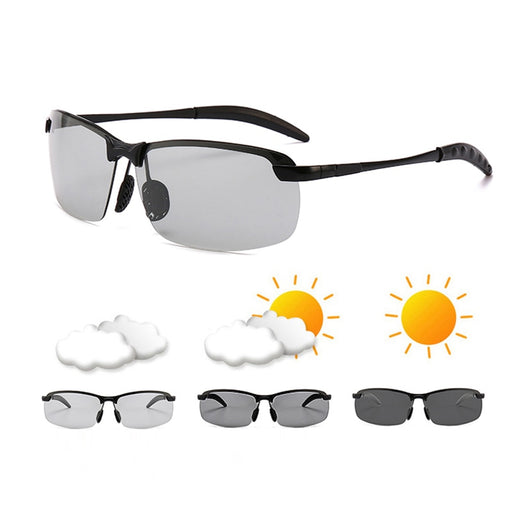 Photochromic Sunglasses Men Polarized driving Chameleon Glasses Male Change Color SunGlasses Day Night Vision Driving Eyewear - PanasiaMarine.Com