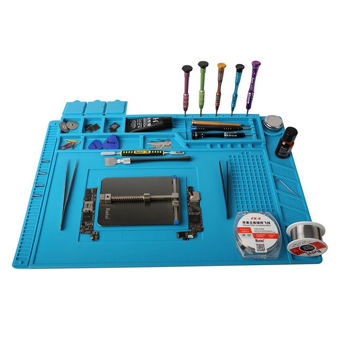 ESD Heat Insulation Working mat Soldering Station Iron Phone Computer Repair Mat Magnetic Heat-resistant BGA  Insulator Platform - PanasiaMarine.Com