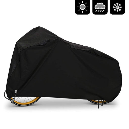 Bike Cover Outdoor Waterproof Bicycle Covers Rain Sun UV Dust Wind Proof with Lock Hole for Mountain Road Electric Bike, XL - PanasiaMarine.Com