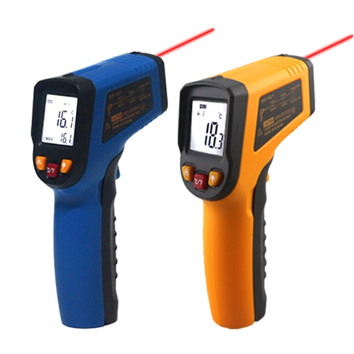 Handheld Non-contact IR Infrared Thermometer Digital LCD Laser Pyrometer Surface Temperature Meter Imager C F Backlight -50~600C - PanasiaMarine.Com