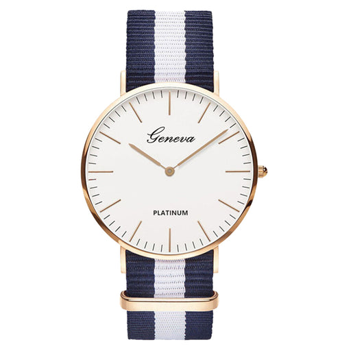 Hot Sale Nylon strap Style Quartz Women Watch Top Brand Watches Fashion Casual Fashion Wrist Watch Relojes - PanasiaMarine.Com