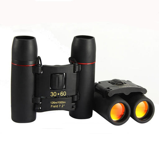 Zoom Telescope 30x60 Folding Binoculars with Low Light Night Vision for outdoor bird watching travelling hunting camping - PanasiaMarine.Com