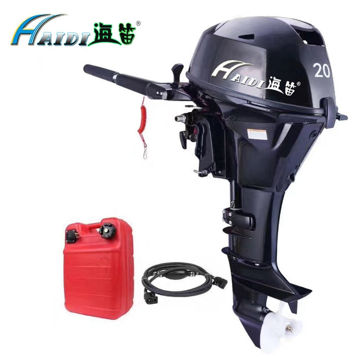 HaiDi Wholesale and Retails Water Cooled 4 -stroke 20 HP marine engine outboard motor for boats - PanasiaMarine.Com