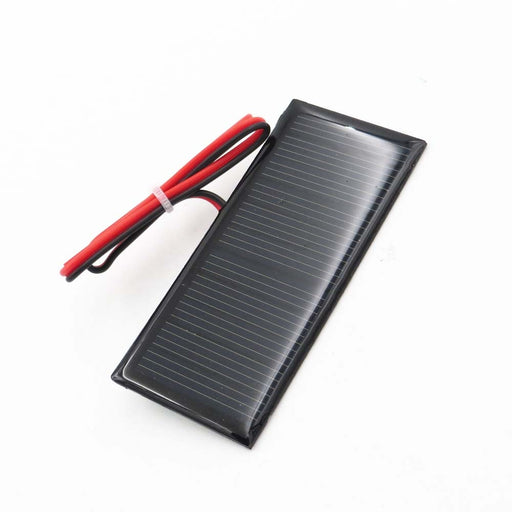 5.5V 70mA 0.39Watt Solar Panel Polycrystalline Silicon DIY Battery Charger Small Mini Solar Cell cable toy 5.5V Volt 5v - PanasiaMarine.Com