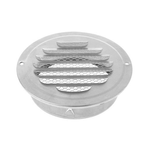 Stainless Steel Exterior Wall Air Vent Grille Round Ducting Ventilation Grilles 70mm,80mm,100mm,120mm,150mm,160mm,180mm,200mm - PanasiaMarine.Com
