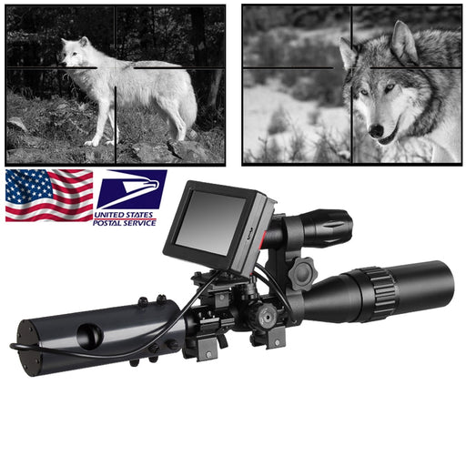 850nm Infrared LEDs IR Night Vision Device Scope Sight Cameras Outdoor 0130 Waterproof Wildlife Trap Cameras A - PanasiaMarine.Com