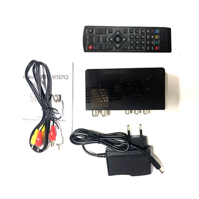 HD 1080p Tv Tuner Dvb T2 Vga TV  Dvb-t2 For Monitor Adapter USB2.0 Tuner Receiver Satellite Decoder Dvbt2 Russian Manual - PanasiaMarine.Com