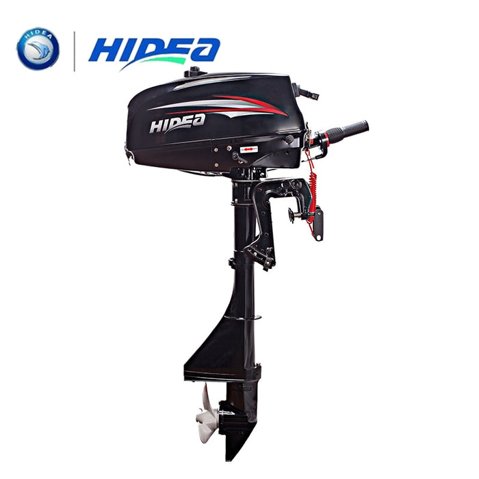 Hidea 2 stroke 3.5hp short shaft outboard motor with Hand startover  Marine Engine boat kayak - PanasiaMarine.Com
