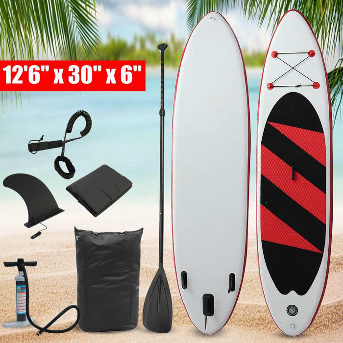 42x100x20cm SUP Paddle Board Inflatable Stand Up Paddleboard Surfing Board Surfboard Rowing Paddle Kits - PanasiaMarine.Com