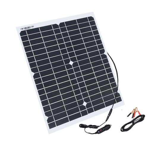 Boguang flexible solar panel 20w panels solar cells cell module DC for car yacht light RV 12v battery boat 5v outdoor charger - PanasiaMarine.Com