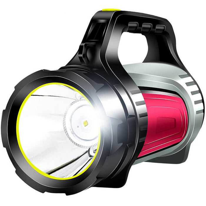 LED Camping Light Rechargeable 8000LM Spotlight Outdoor Lantern Flashlight Waterproof Searchlight for Hiking Fishing Emergency - PanasiaMarine.Com
