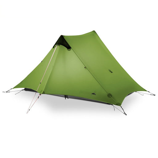 2019 3F UL GEAR LanShan 2 People Oudoor Ultralight Camping Tent 3/4 Season 1 Single 15D Nylon Silicon Coating Rodless Tent - PanasiaMarine.Com