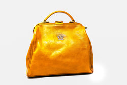 PRATESI FIRENZE SAN MINIIATO TRANSFORMER LEATHER HANDBAG
