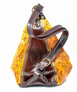 MARINO ORLANDI LETIZIA EMBOSSED BACKPACK