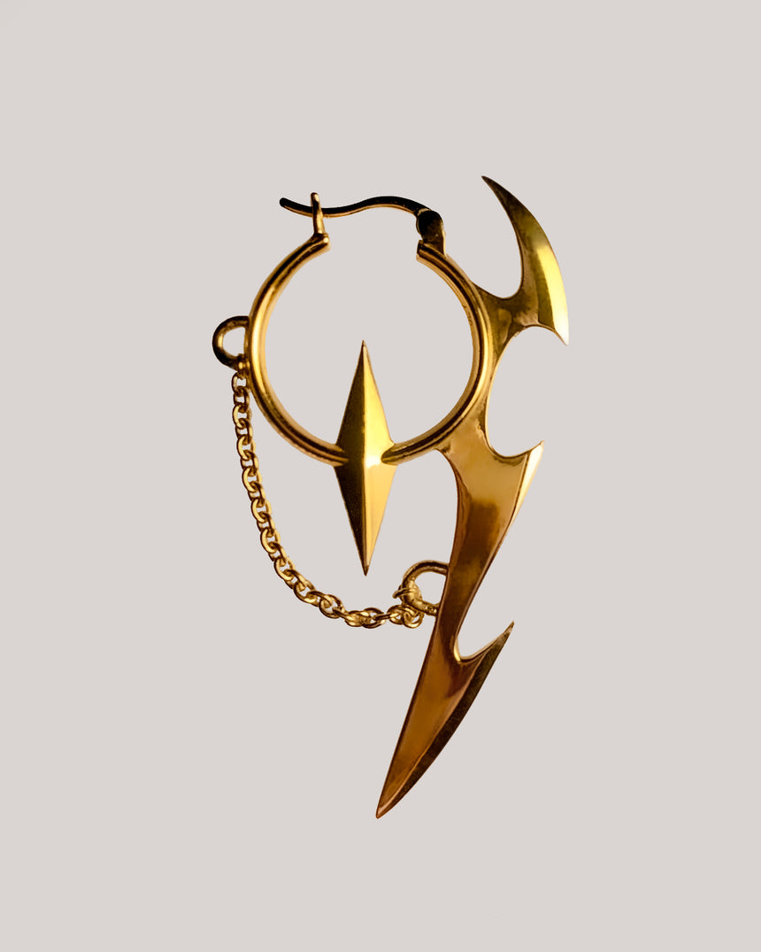 Snitch Single Earring