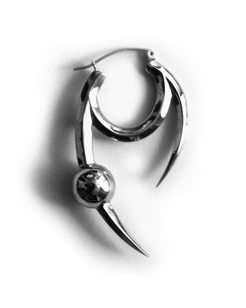 Claw Single Earring