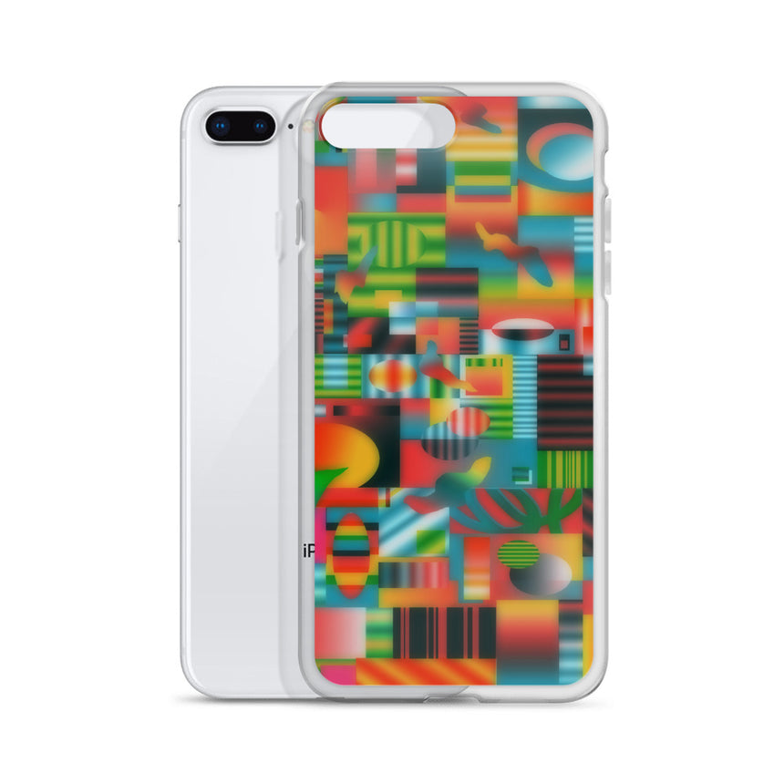 Glitch iPhone Case