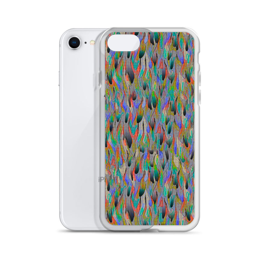 Scribble Fire iPhone Case