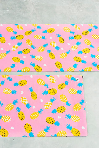 Pineapple of My Mat Flexi Yoga Mat Adult and Mini