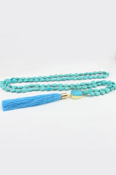 Flexi Lexi All My Hearts Turquoise Mala