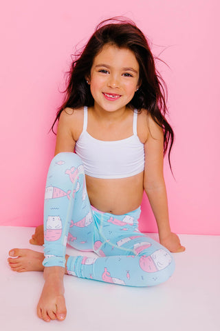Call Me Mer-Cat Flexi Yoga Pants Kids and Minis