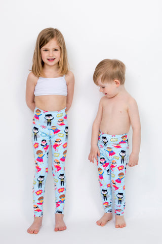 Mini Super Hero Flexi Pants