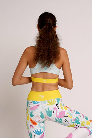 Fit Flamingo Flexi Crop