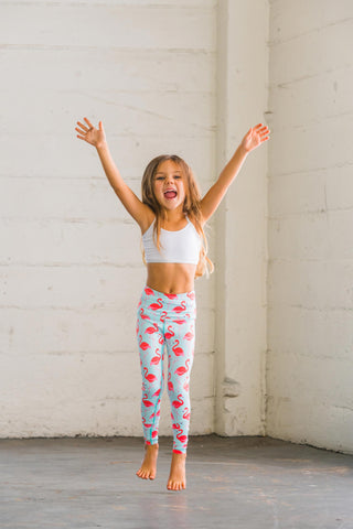 Flamingo Flexi Pants Kids and Minis