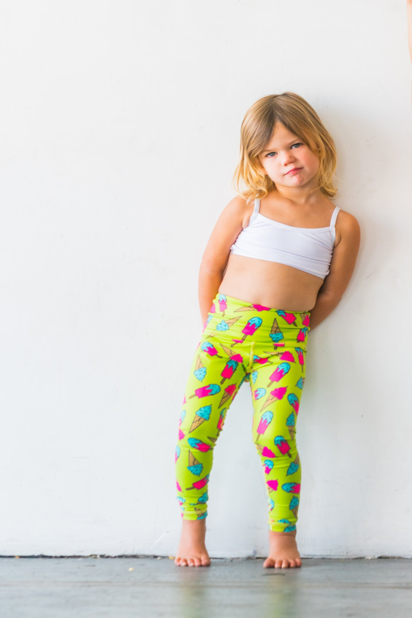 Ice Ice Ice Cream Baby Flexi Pants Kids and Minis