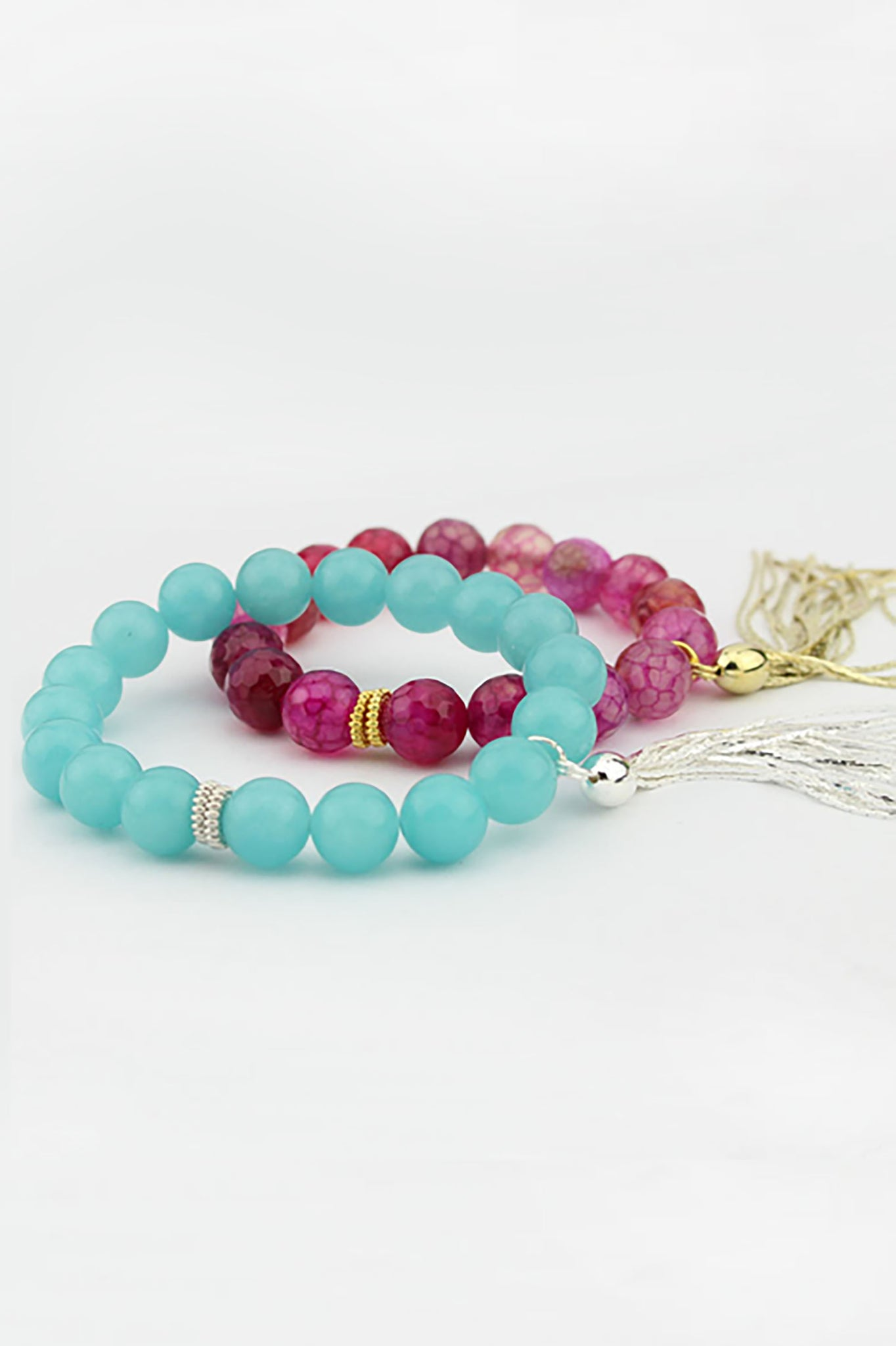 A set of Good Intention bracelets