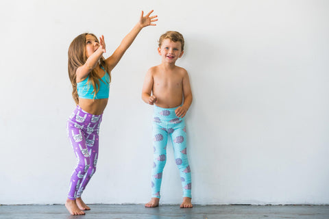 Happy  Hedgehog Flexi Pants Kids and Minis