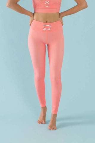 Hello Girlfriend Flexi Pants (Pink)